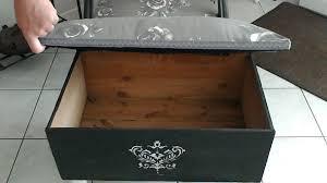 pouf bout de canapé pouf bout de canapé banc ou coffre création de le