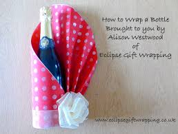 wine bottle gift wrap how to gift wrap a bottle of wine