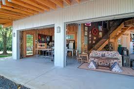 workshop designs attached garage workshop designs garage rustic with garage doors