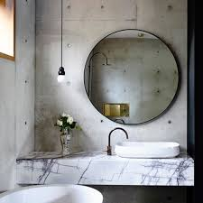 Concrete Bathroom Sink by Concrete House Bathroom Auhaus Architecture Est Living