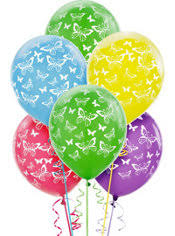 butterfly balloons butterfly balloons 6ct party city