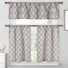 3 Piece Curtain Rod Kitchen Curtains You U0027ll Love Wayfair