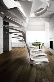 Unique Stairs Design General Sculptural Modern Stairs 25 Unique Staircase Designs To