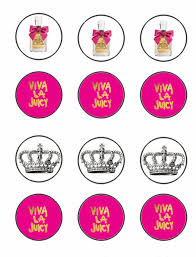 printable hello kitty birthday party ideas free printable juicy couture cupcake toppers party ideas