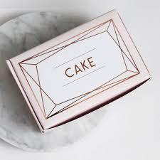 wedding cake boxes blush gold wedding cake boxes by posh totty designs interiors