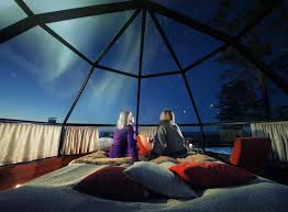 sleep under the northern lights these luxury glass igloos offer the most incredible views of the
