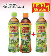 Teh Ichi Oca promo harga ichi ocha minuman ringan terbaru minggu ini hemat id