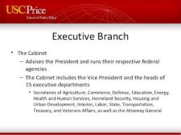 Us Cabinet Agencies United States Federal Government Structure For International Students