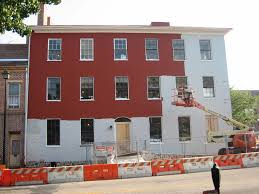 wills house red paint on the north side gettysburg daily
