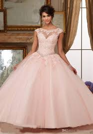 quinceaneras dresses gorgeous 2017 quinceanera dresses blush pink bateau neck cap
