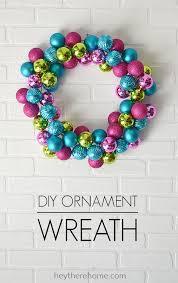 easy diy ornament wreath