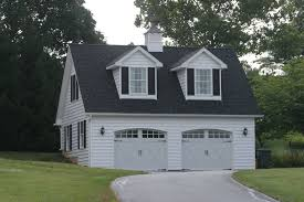 detached two car garage in finksburg md design build remodeling