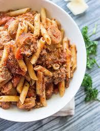spicy italian sausage marinara pasta savory spicerack