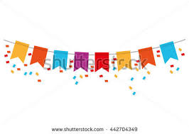 party banner party banner icon stock vector 442704349