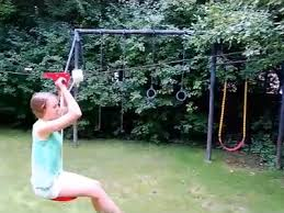 Backyard Zipline Kits by The Seated Backyard Zipline Kit Allows Young Zip Liners To Glide