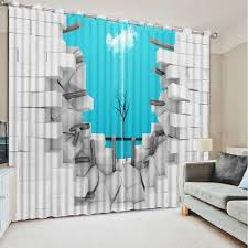 Turquoise Living Room Curtains Online Get Cheap Window Curtains Blackout Aliexpress Com