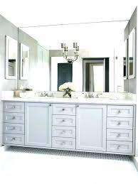 framed bathroom mirror ideas large framed bathroom mirrors slbistro com