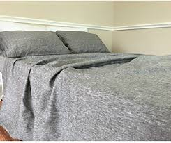 amazon com chambray grey bed sheets chambray bedding grey