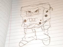gangster spongebob drawing xxcanttouchmehxx 2017 mar 31 2012