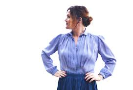 periwinkle blouse pretty in periwinkle blouse pat vintage collection