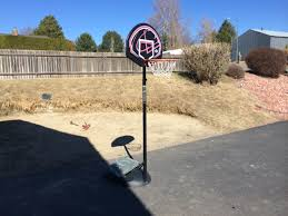 Used Furniture Sign Furniture Wheel Base Portable Basketball Hoop For Backyard