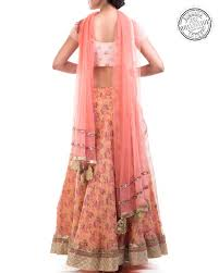 shop readymade lehenga by anju agarwal crafted with organza online