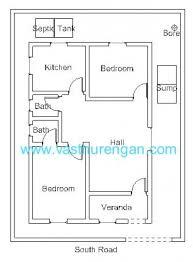 Vastu Plan For South Facing Plot 1 Jpg 500 678 Kl Pinterest South Small Home Plans