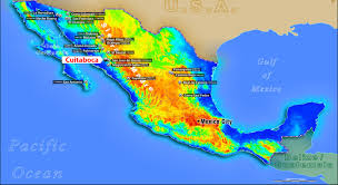 Map Of Sinaloa Mexico by Cuitaboca Santana Minerals Limited