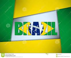 Brazil Flag Image Brazil 2014 Letters With Brazilian Flag Stock Vector Image 35953672