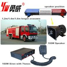 led security light bar ambulance equipment led security blue emergency light bar buy