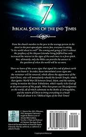7 biblical signs of the end times c marvin pate 9781508940159