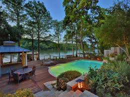 Austin Houses by Lake Front House With Deck And Pool 10802 River Terrace Cir