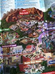 map of california adventure the disney california adventure map now includes cars land