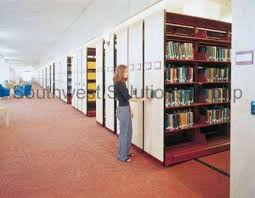 Space Saver Bookcase Library Book Shelves Bookstack Storage Shelving Metal Bookcase
