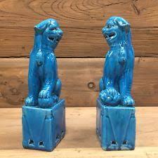 blue foo dogs foo dog ebay