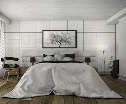 White Laminate Floor Contemporary Bedding Designs White Window Gray Leather Bed Modern