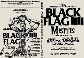 Black Flag American Waste Black Flag 和misfits Live Santa Monica 电影black Flag Live 照片从