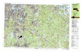 Paradise Massachusetts Map Cohasset Topographic Map Ma Usgs Topo Quad 42070b7