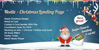 10 best responsive christmas themes