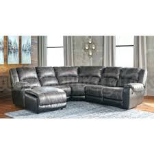 Grey Recliner Sofa Grey Leather Sectional Recliner Sofa 1025theparty