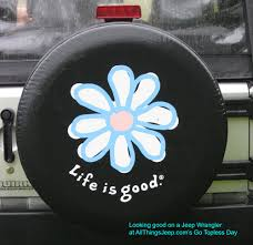 jeep life tire cover i can see this with maybe a lotus type flower in jewel tone colors