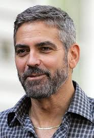 hair style for aged george clooney s hairstyle simple and classy