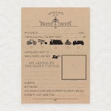 my advice for the and groom cards leave a note for the and groom printable template