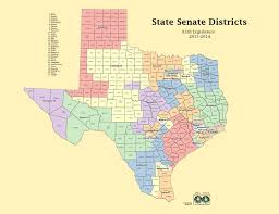 Van Texas Map Texas Voting Districts Map My Blog