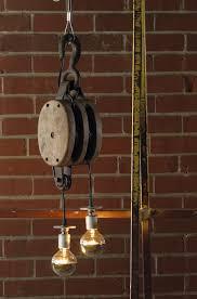 antique light bulb fixtures decorating with vintage pulleys ersand vintage modern