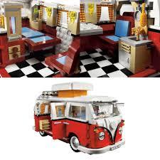 lego volkswagen inside lego volkswagen t1 camper van