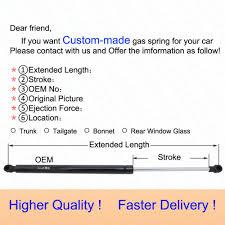 nissan pathfinder xe 1995 4pcs set auto gas struts lift supports for 1987 1995 nissan