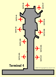 lax gate map lax airport los angeles international airport guide