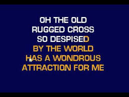 old rugged cross with lyrics karaoke youtube