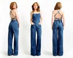 jean one jumpsuit how to style afro with wide leg search casual